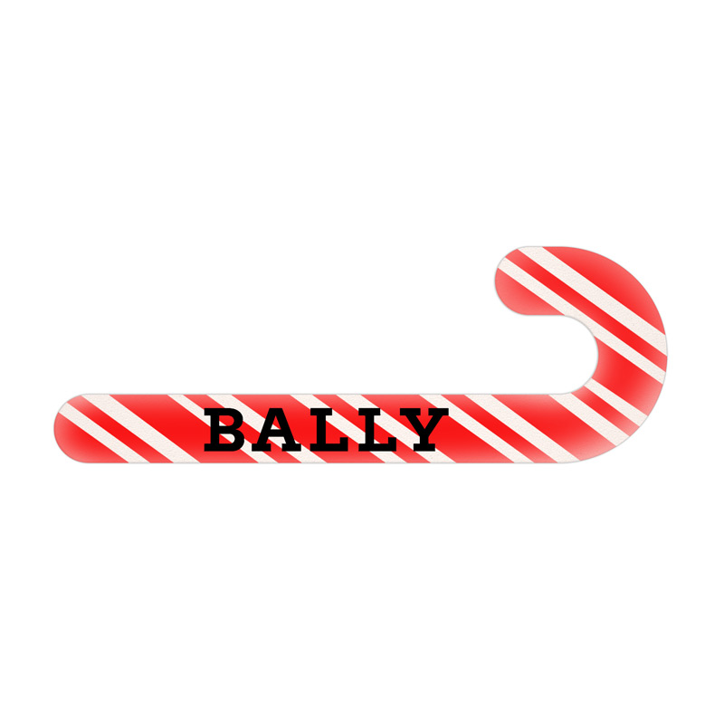 Candy Cane Shaped Emery Board