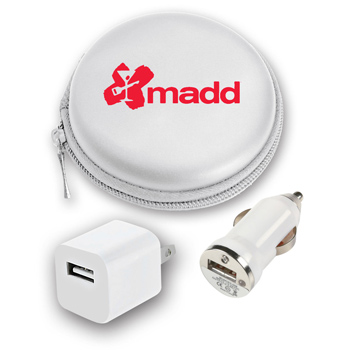Travel Pod USB Set