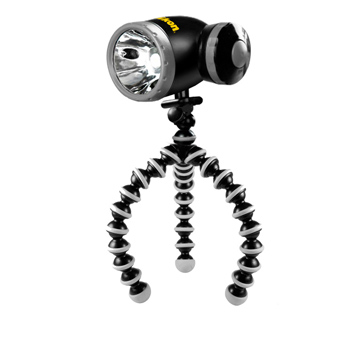 Bendable Tri-Pod Flashlight
